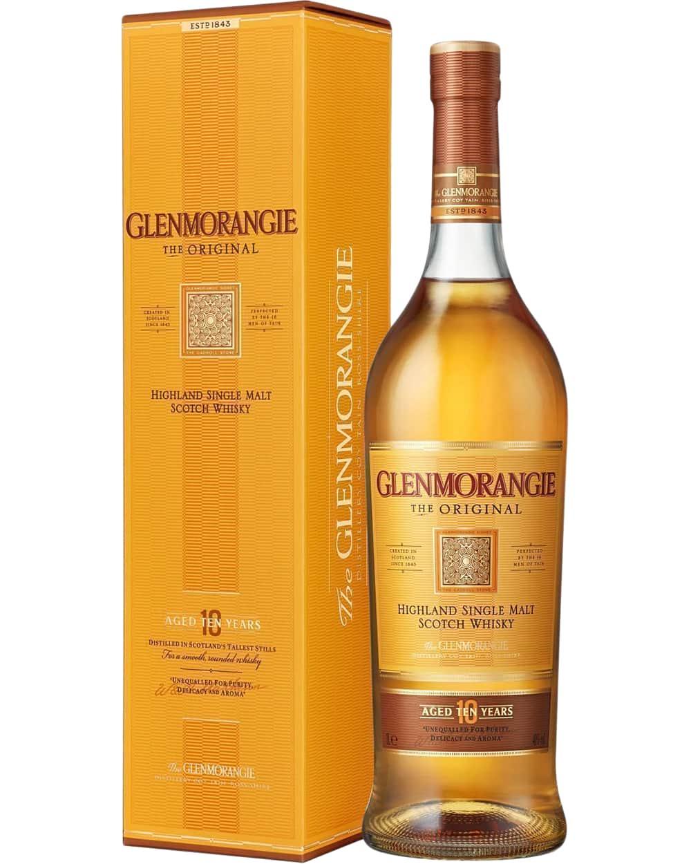 Glenmorangie Original 10 Years Old 1 liter фото