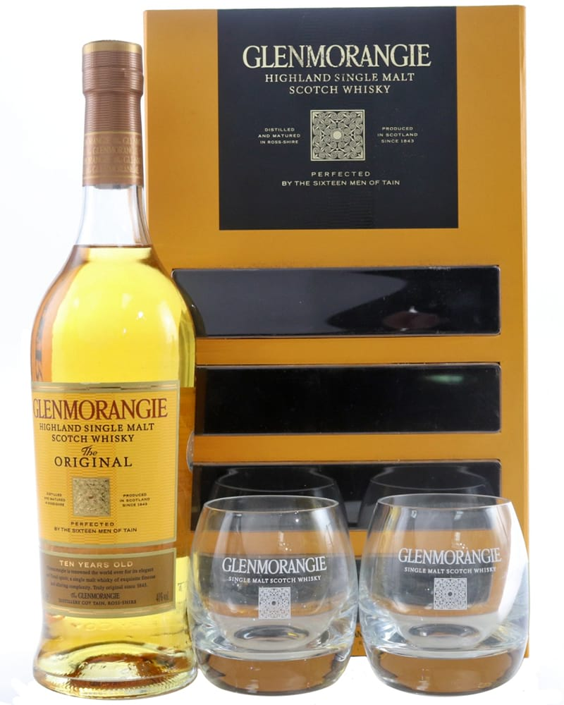 Glenmorangie Original in a gift box with 2 glasses фото