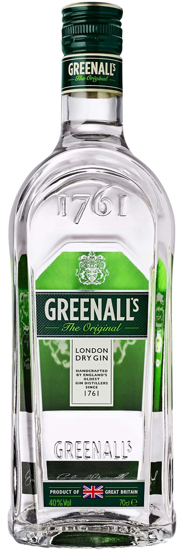 G&J Distillers Greenall's Original London Dry фото