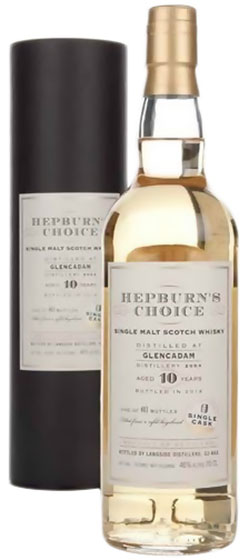 2007 Hunter Laing Glencadam Hepburn's Choice 10 Year Old фото
