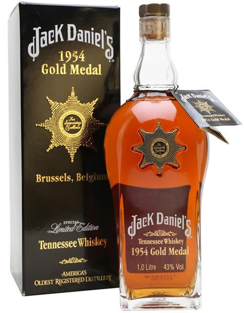 1954 Jack Daniels Gold Medal 1 liter фото