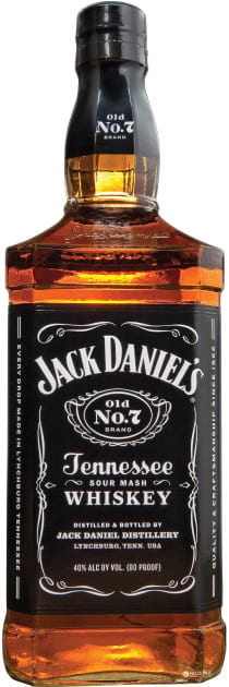 Jack Daniels Tennessee Whiskey Old №7 1 liter фото