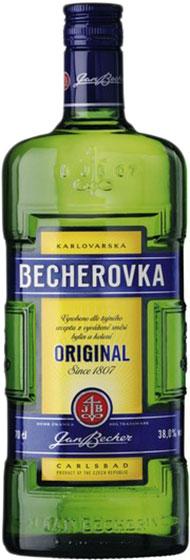 Jan Becher Becherovka 1 liter фото
