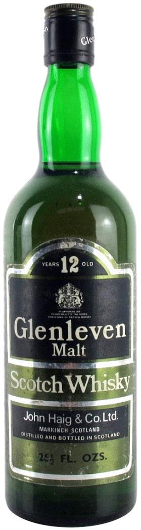 John Haig & Co Glenleven 12 Year Old Malt фото