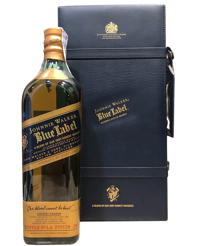 John Walker & Sons Blue Label Old Design 25 Years Old gift box фото