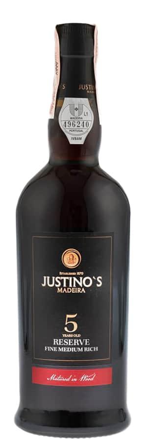 Justino's Madeira Fine Medium Rich 5 Years Old фото