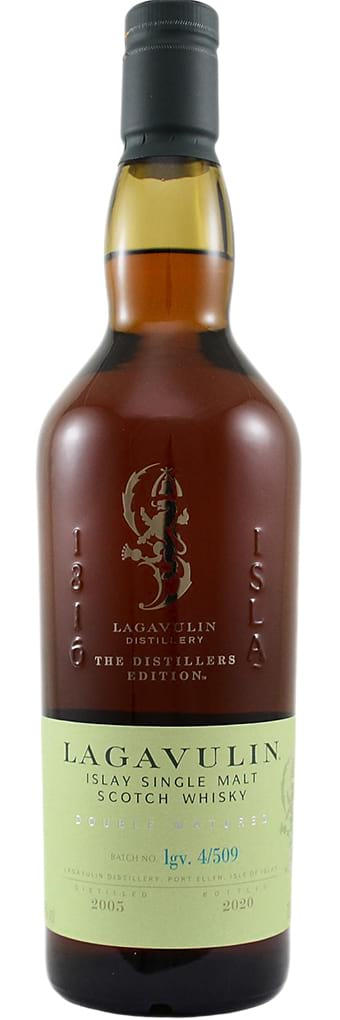 2005 Lagavulin The Distillers Edition Double Matured фото