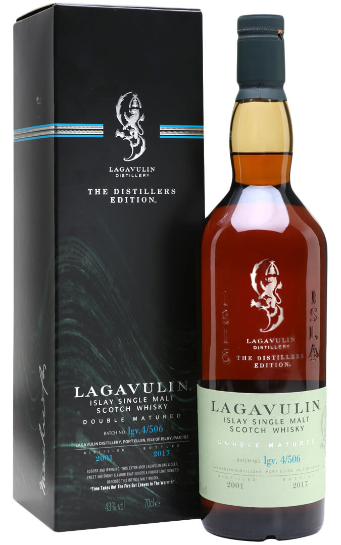 2001 Lagavulin The Distillers Edition Double Matured фото
