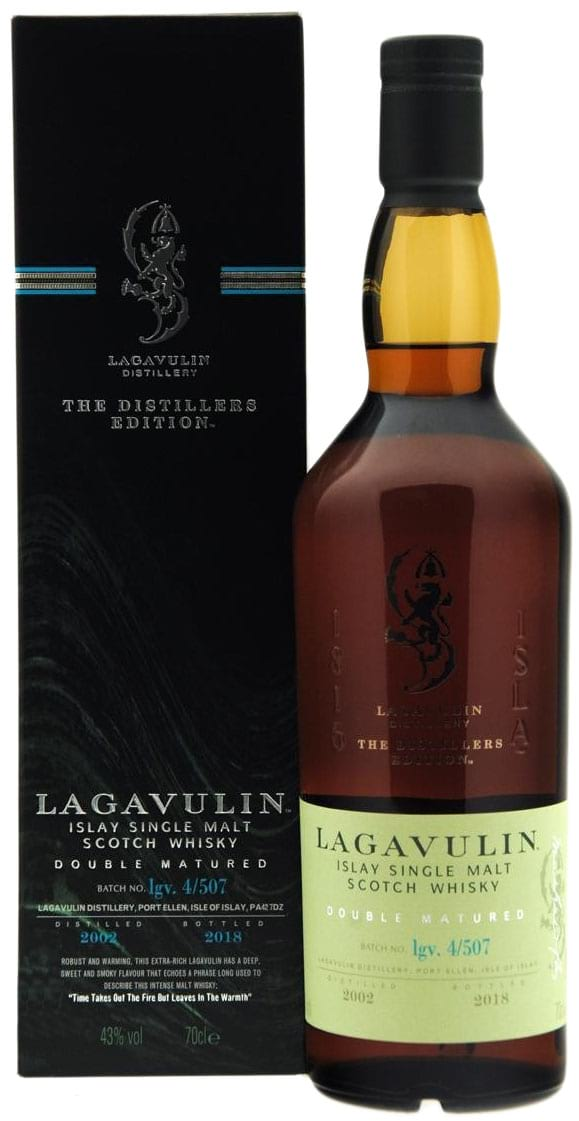 2002 Lagavulin The Distillers Edition Double Matured фото