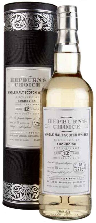 Langside Distillers Hepburn's Choice Auchroisk 12 Years Old фото
