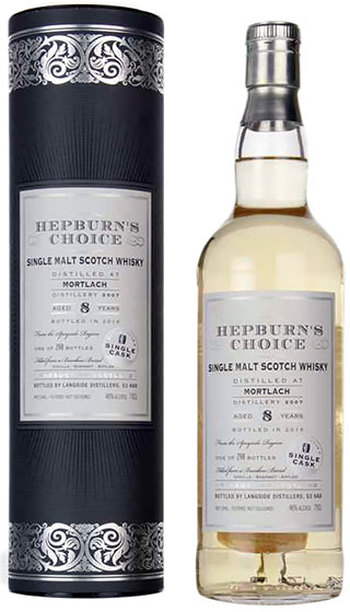 2007 Langside Distillers Hepburn's Choice Mortlach 8 Years Old фото