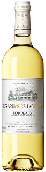 2012 Chateau Lagrange Les Arums de Lagrange Bordeaux Blanc Sec фото