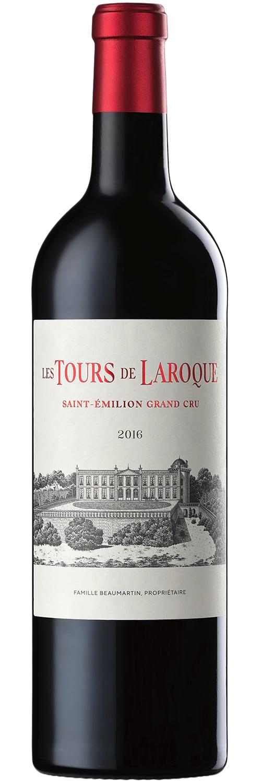 2015 Chateau Laroque «Les Tours de Laroque» Saint-Emilion Grand Cru фото