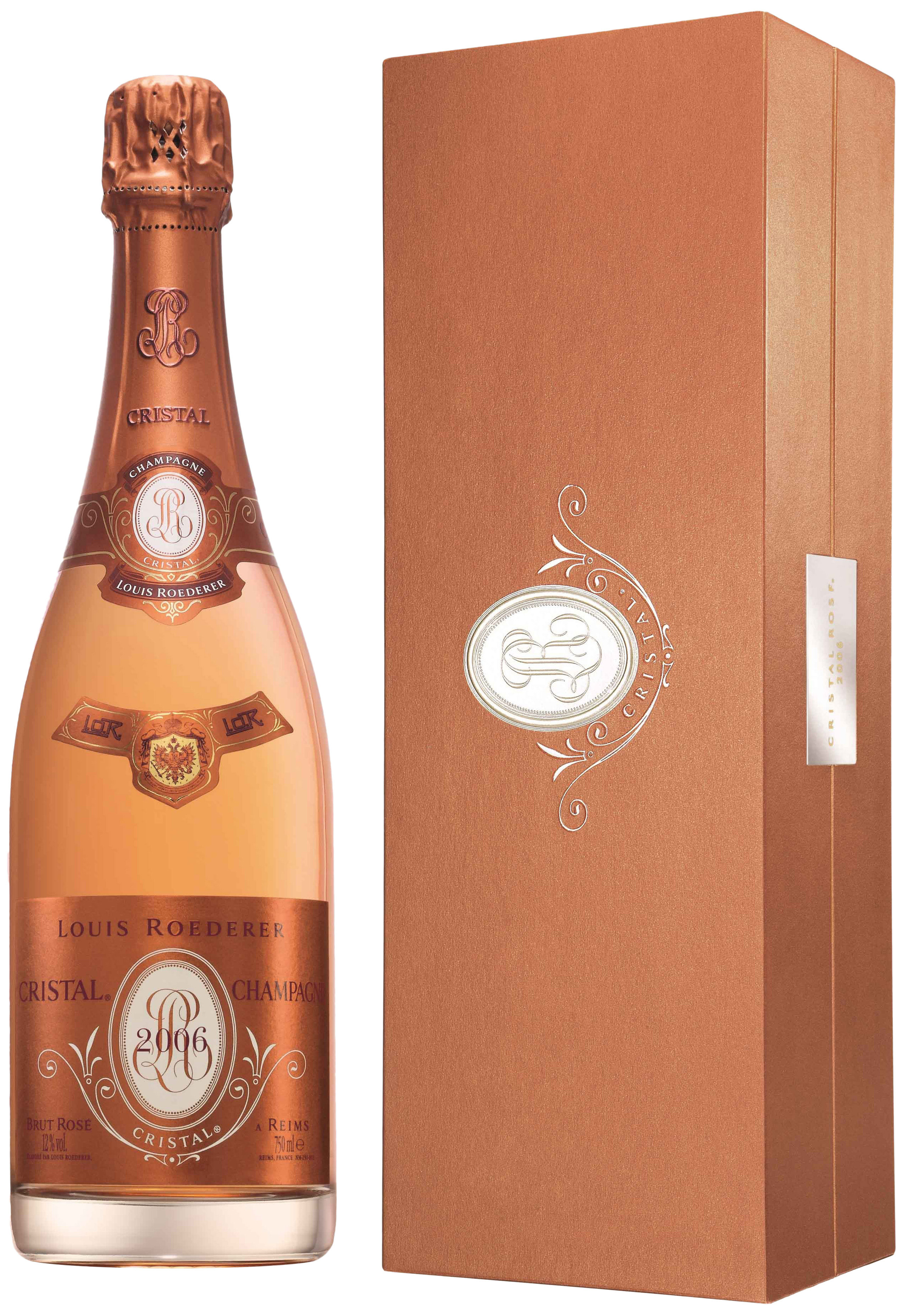 1996 Louis Roederer Cristal Rose фото