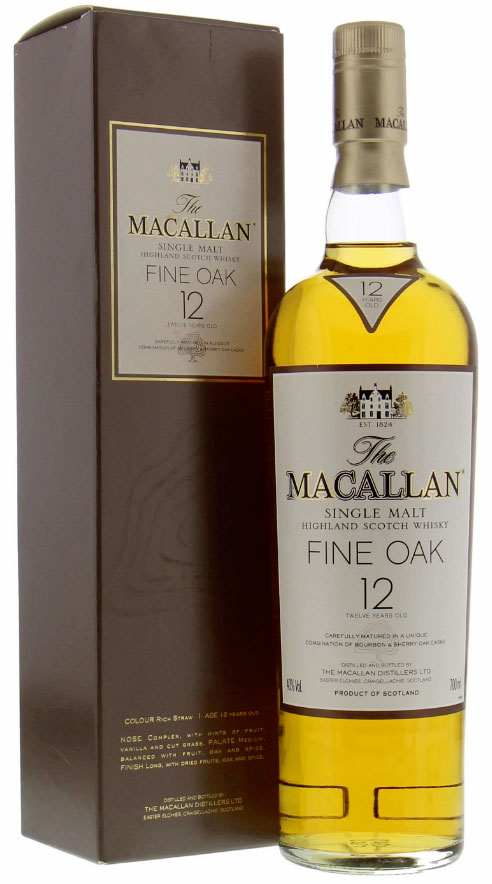 Macallan 12 Years Old Bourbon and Sherry Oak Casks фото