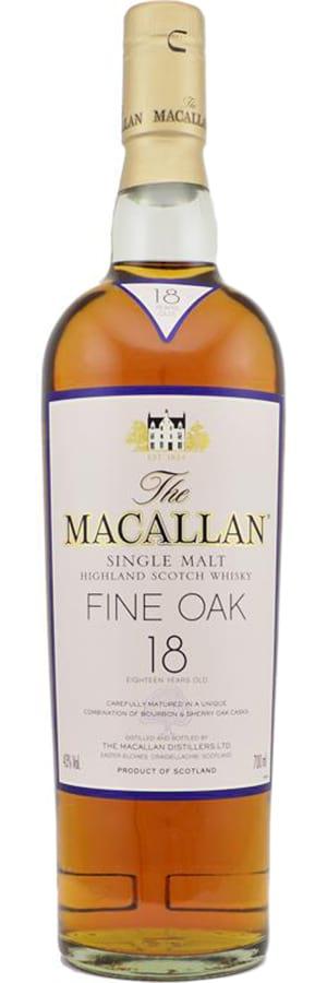 Macallan 18 Years Old Bourbon and Sherry Oak Casks Release 2007 фото