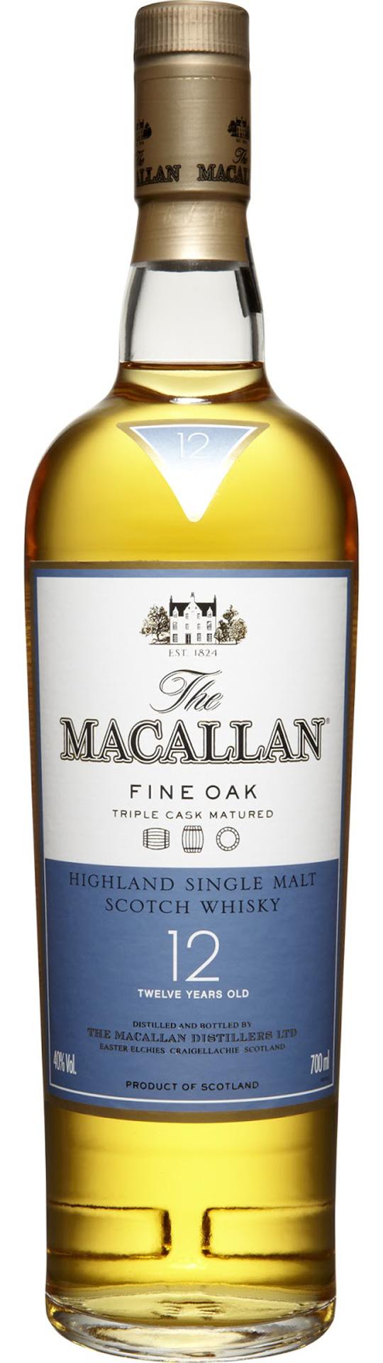 Macallan Fine Oak 12 Years Old фото
