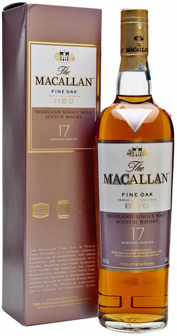 Macallan Fine Oak 17 Years Old фото