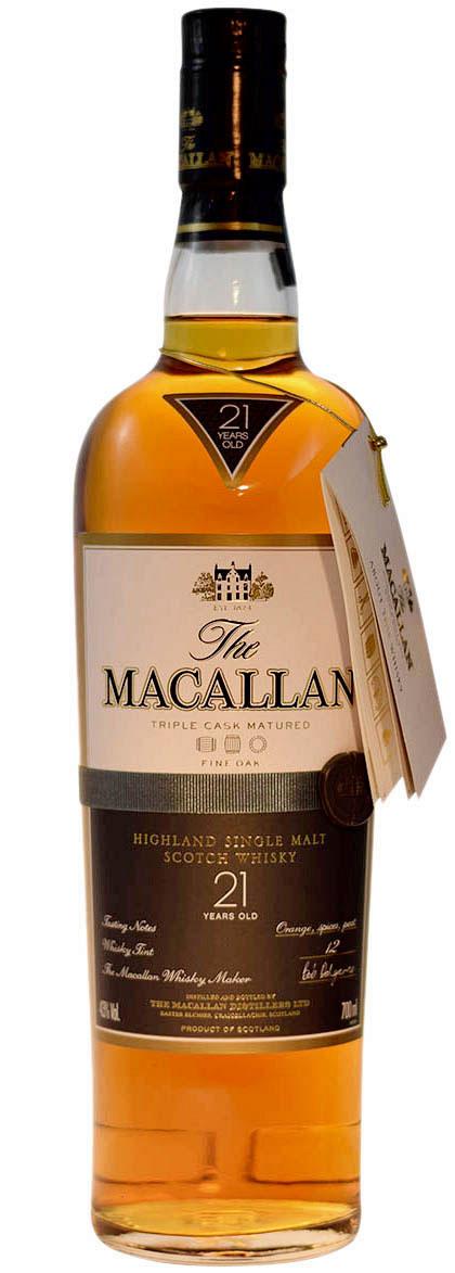 Macallan Fine Oak 21 Years Old, Release 2011 фото