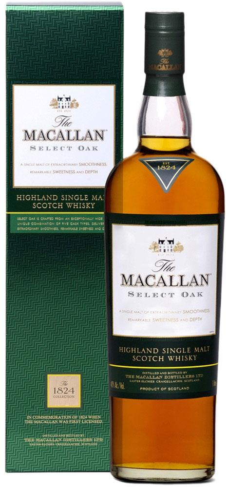 Macallan Select Oak 1824 Collection 1 liter фото