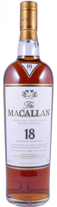 1997 Macallan Sherry Oak 18 Years Old фото