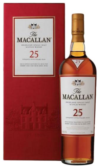 Macallan Sherry Oak 25 Years Old, Release 2000 фото
