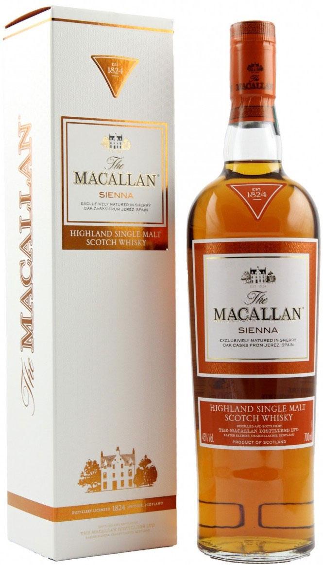 Macallan Sienna 1824 Series фото