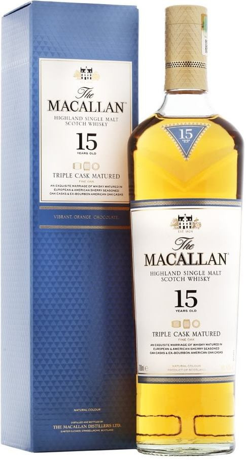 Macallan Triple Cask Matured 15 Years Old фото