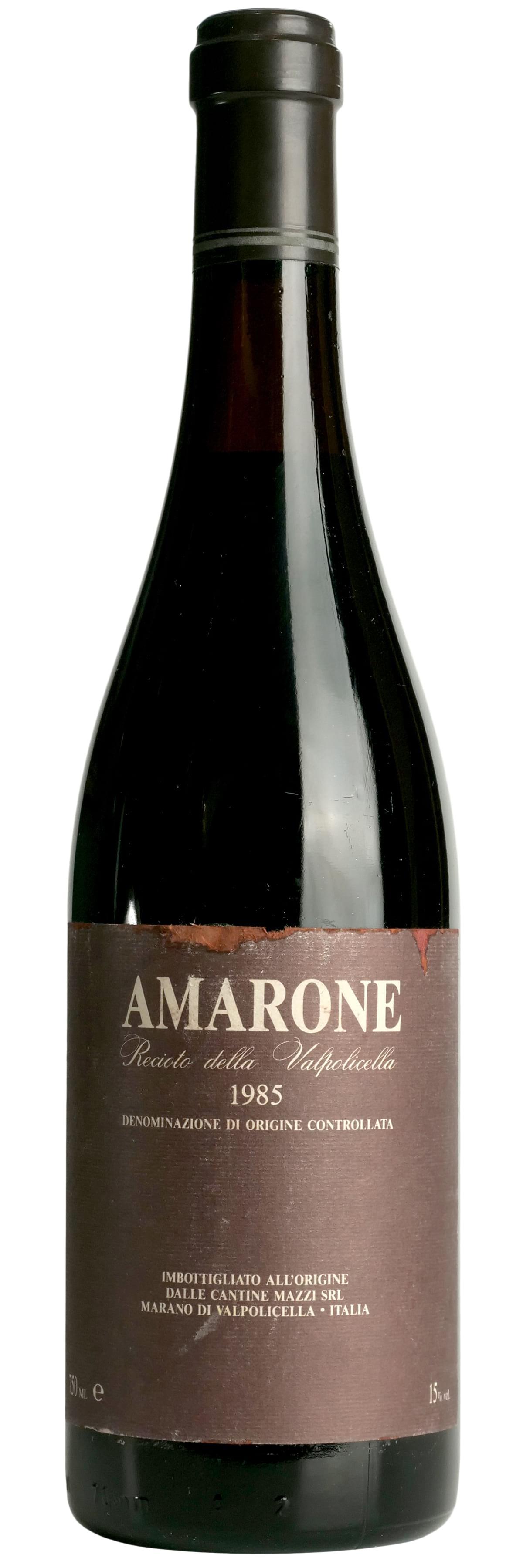 1985 Cantine Mazzi Amarone Recioto della Valpolicella фото