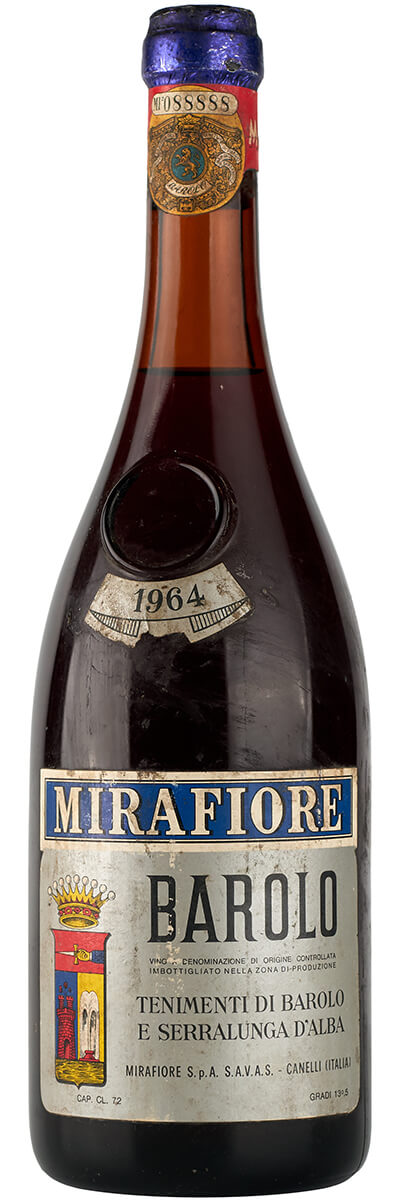 1964 Mirafiore Barolo фото