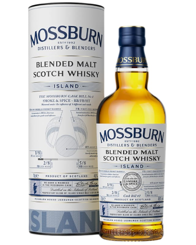 Mossburn Island Blended Malt Scotch Whisky фото