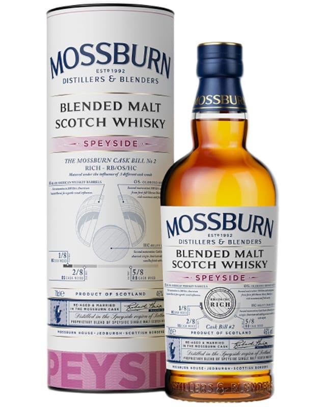 Mossburn Speyside Blended Malt Scotch Whisky фото
