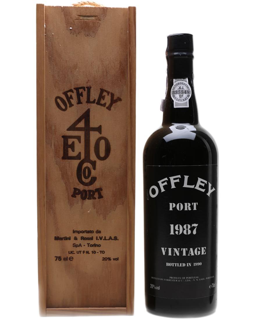 1987 Offley Vintage Port фото