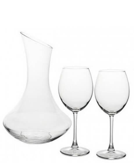 Pasabahce Enoteca + 2 glasses фото