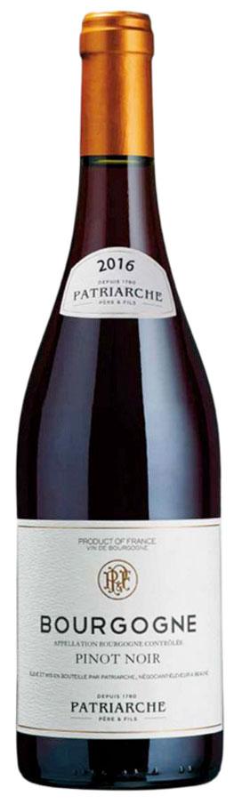 2016 Patriarche Bourgogne Pinot Noir фото