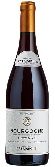 2018 Patriarche Bourgogne Pinot Noir фото
