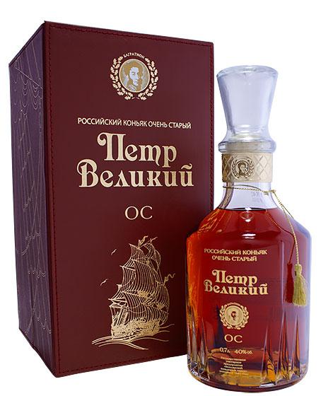 Kizlyar Cognac Distillery Petr Velikiy 25 Years Old фото