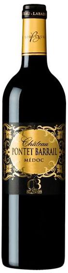 2012 Chateau Pontet Barrail Medoc AOC фото