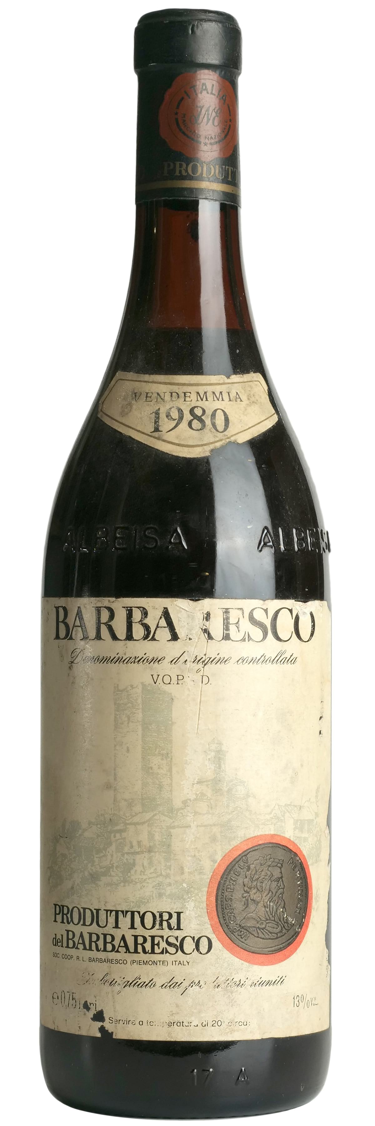 1980 Produttori del Barbaresco Barbaresco фото