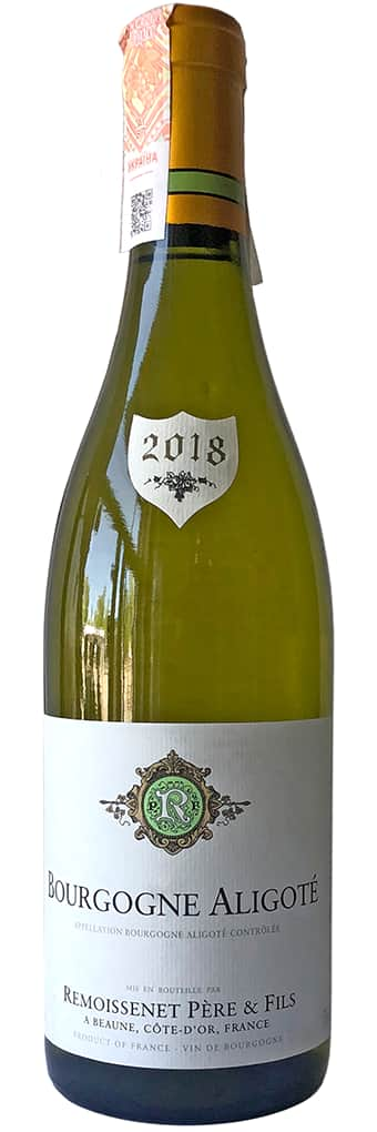 2018 Remoissenet Pere et Fils Bourgogne Aligote фото