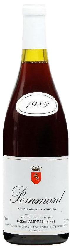 1989 Domaine Robert Ampeau & Fils Pommard фото