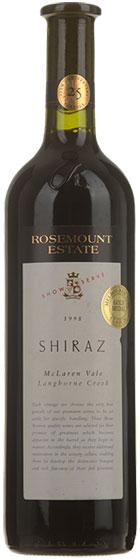 1998 Rosemount Estate Show Reserve Shiraz фото