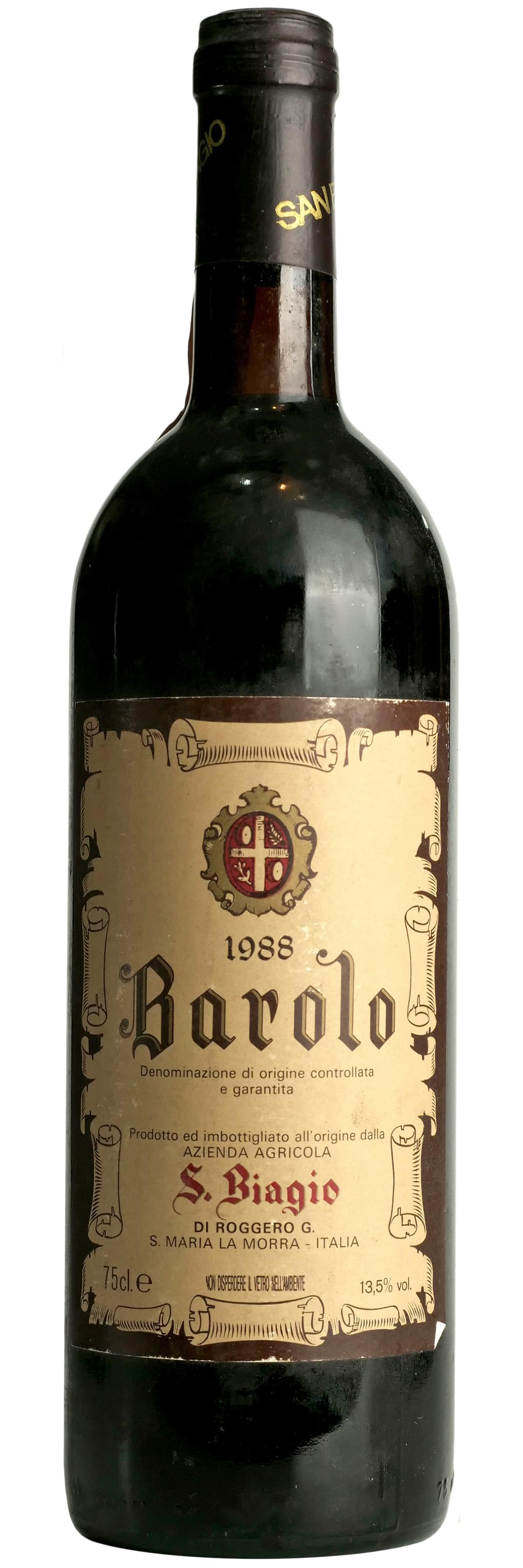 1988 San Biagio Barolo фото