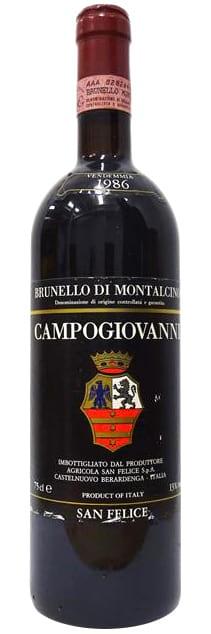 1986 Campogiovanni Brunello di Montalcino фото