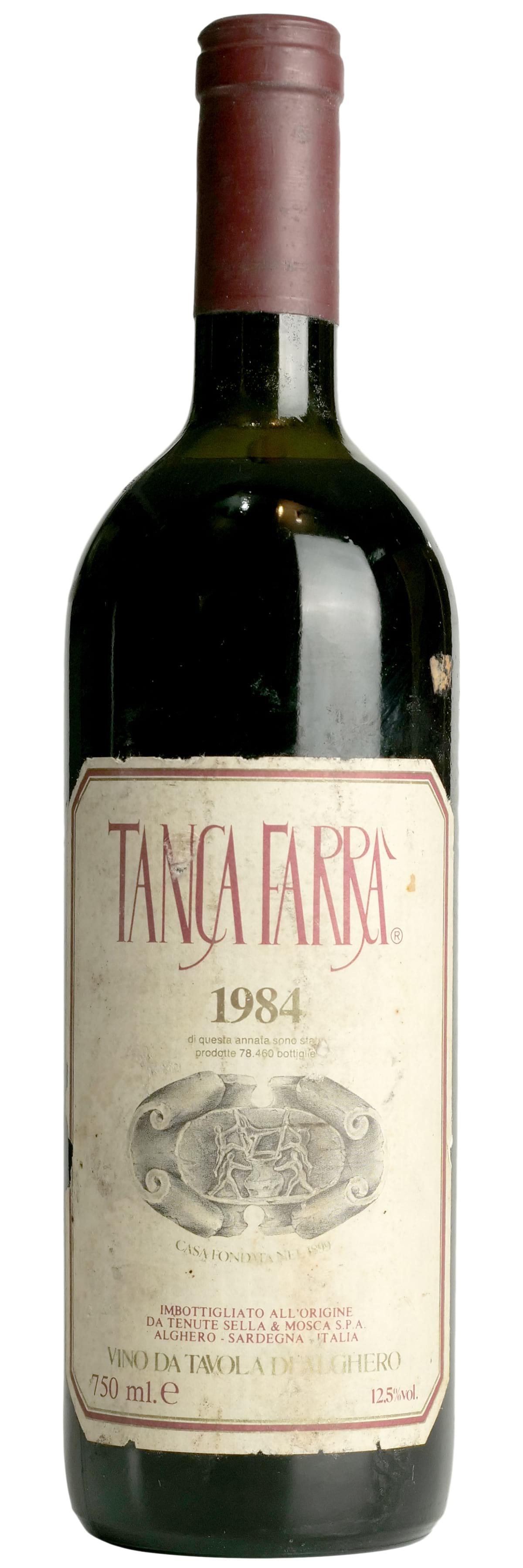 1984 Sella & Mosca Tanca Farra фото