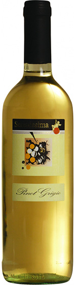 2015 Serenissima Pinot Grigio фото