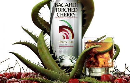 Bacardi Torched Cherry — фруктовый ром - фото