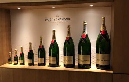 Моет Шандон (Moet Chandon) размеры бутылок