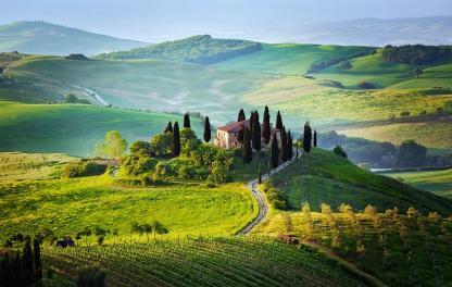 Тоскана пейзаж
