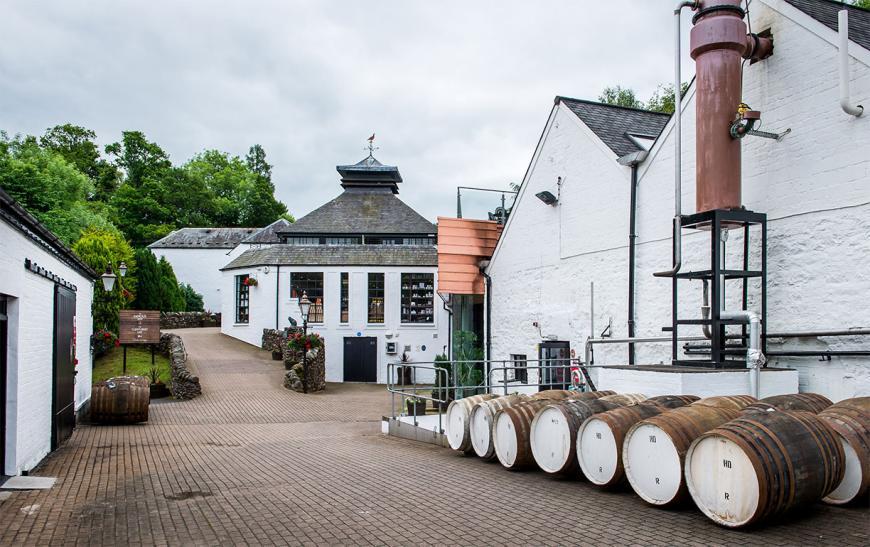 Винокурня Glenturret